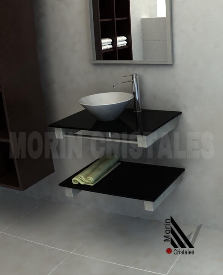 Mesada De 580x400mm Color Negro