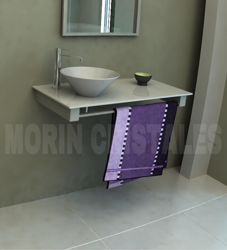 Mesada De 800x400mm Color Blanco