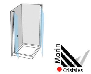 Box Esquinero Rebatible 2 Hojas (2 Rebatibles)